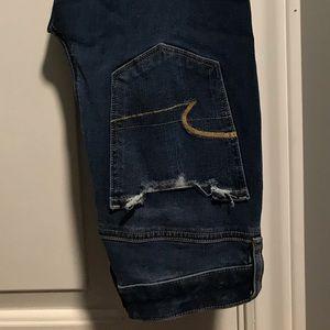 Size 2 American Eagle Distressed Dream Jean.